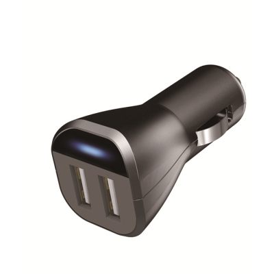 12-24V 2.4A DC/DC USB Charger with 2 USB Outlets
